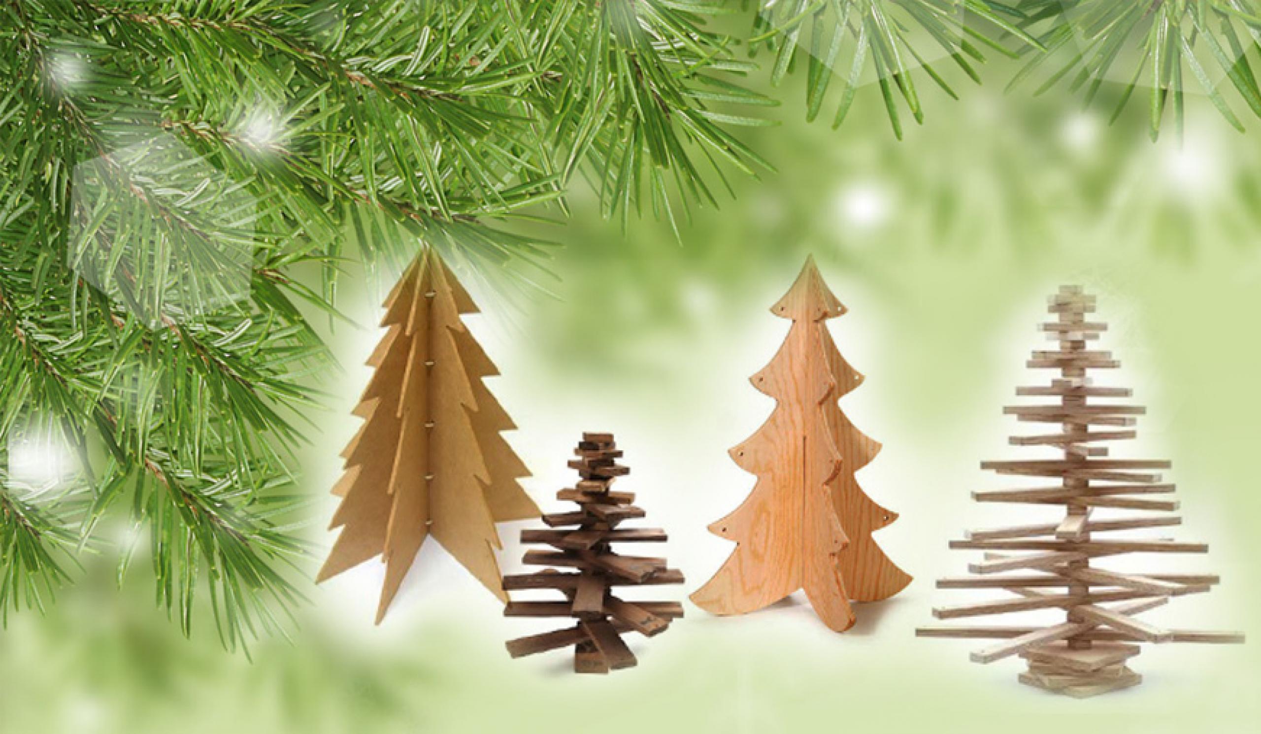 Cum să construiți un brad de Crăciun din lemn