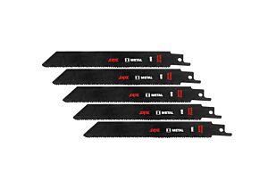 SKIL Set de 5 pânze de ferăstrău BIM pentru metal